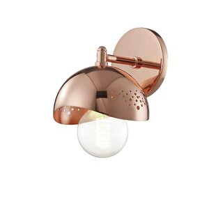 Galien 1 Light Armed Wall Sconce With Dimmer Switch