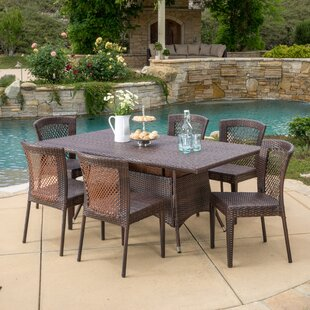 Roquefort 7 Piece Dining Set by Darby Home Co Herry Up