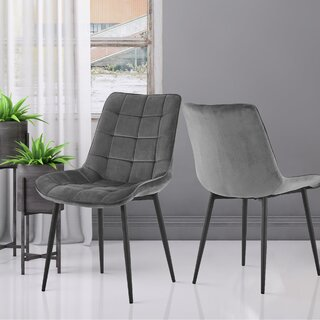 Arline Upholstered Dining Chair (Set of 2) by Brayden Studio SKU:AA782573 Check Price