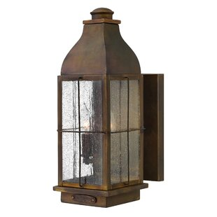 Bingham 2-Light Outdoor Wall Lantern