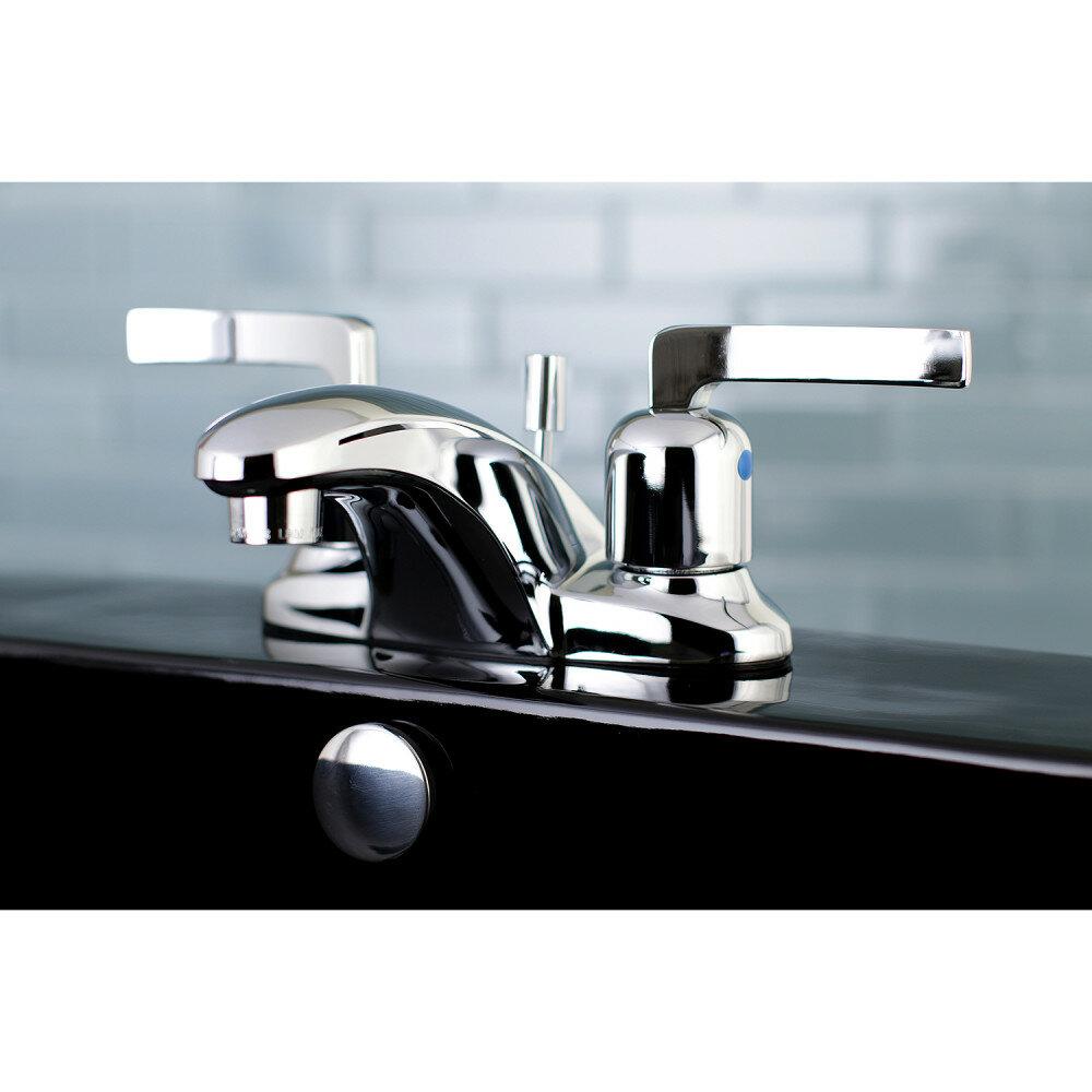 Kingston Brass Centurion Centerset Bathroom Faucet with Drain ...