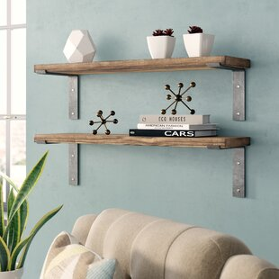 Orlando Industrial Accent Shelves (Set Of 2) by Langley Street Read Reviews