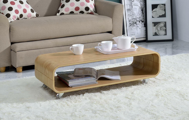 - George Oliver Dressler Bentwood Rolling Coffee Table & Reviews Wayfair
