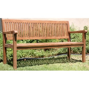 Teak Outdoor Wood Garden Bench