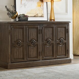 Sandwell Four Door Carved Sideboard Alcott Hill