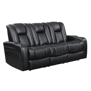 Bela Reclining Power Motion Sofa by Latitude Run New Design
