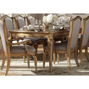 Robyn Solid Wood Dining Table by One Allium Way
