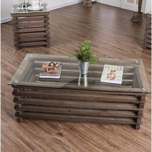 Perrodin Farmhouse Coffee Table