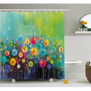 Reviews Gladys Dandelions Shower Curtain ByWinston Porter