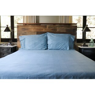 Linkous Modern Glen Plaid 400 Thread Count Sheet Set
