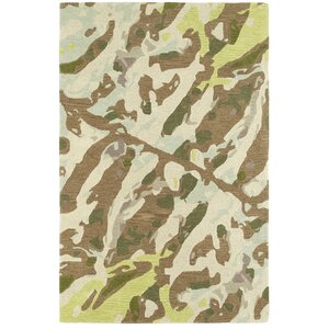 Charlayne Hand Tufted Brown Area Rug