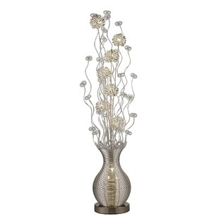 Deals Douse Floral 63 Floor Lamp By World Menagerie