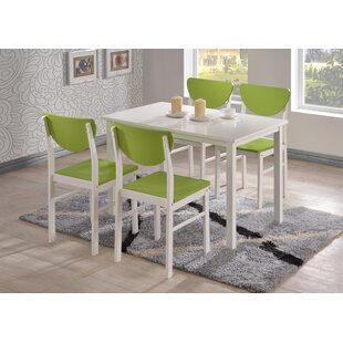 Reviews Alesha Wood Leg Dining Table By Zipcode Design