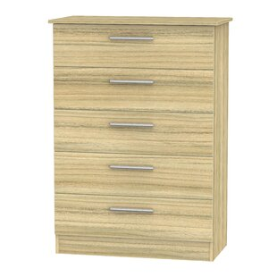 Lyman 5 Drawer Chest By Marlow Home Co.