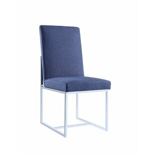 Deimel Floating Upholstered Dining Chair (Set of 2)