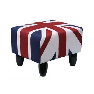 Union Jack Footstool By Gardeco