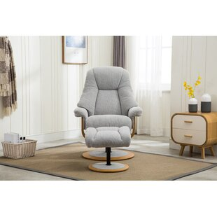 Hermangomez Jersey Manual Recliner With Footstool By Mercury Row