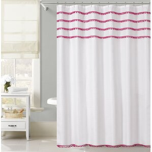 pink shower curtains you ll love