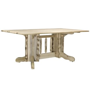Abordale Double Pedestal Solid Wood Dining Table
