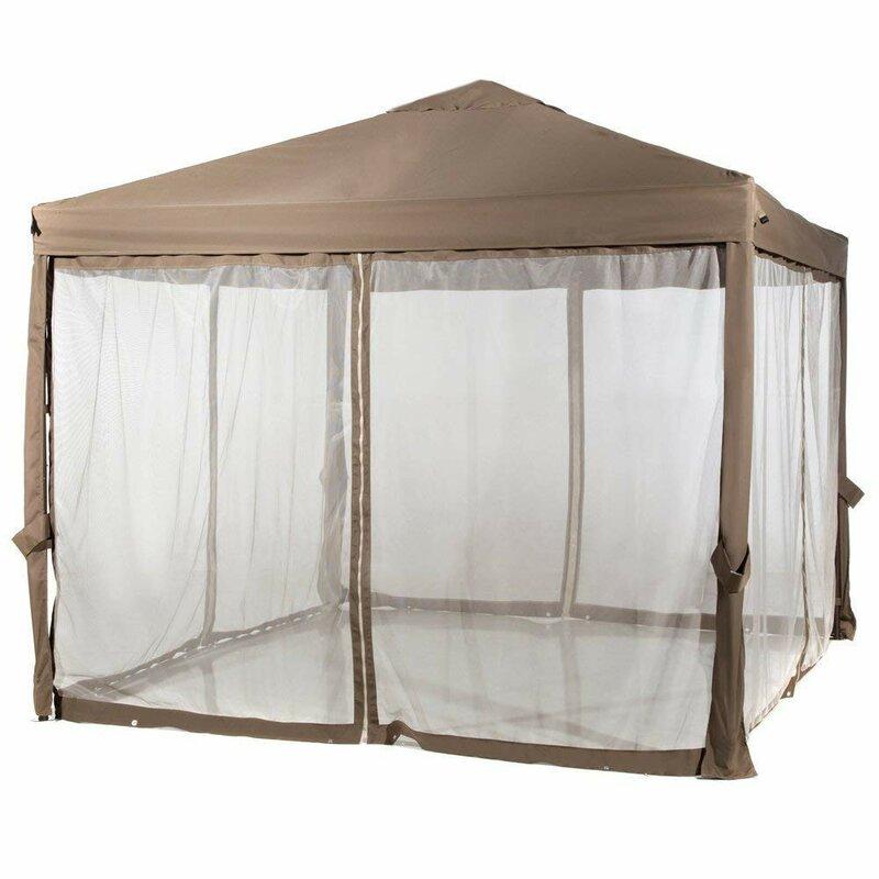 Abba Patio  10 Ft. W x 10 Ft. D Steel Pop-Up Canopy