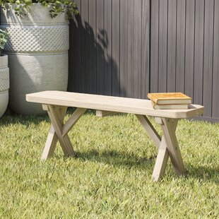 Sempronius Wood Picnic Bench by Loon Peak Design