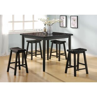 Hadrian 5 Pieces Pub Table Set Longshore Tides