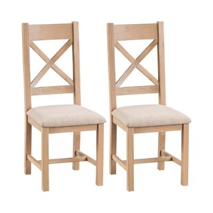 Esteves Solid Wood Dining Chair (Set Of 2) By Brambly Cottage