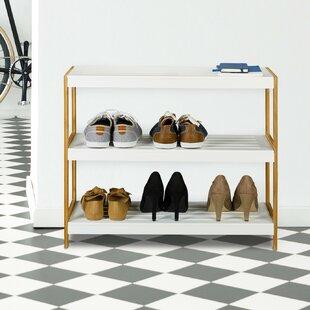 9 Pair Shoe Rack By Symple Stuff