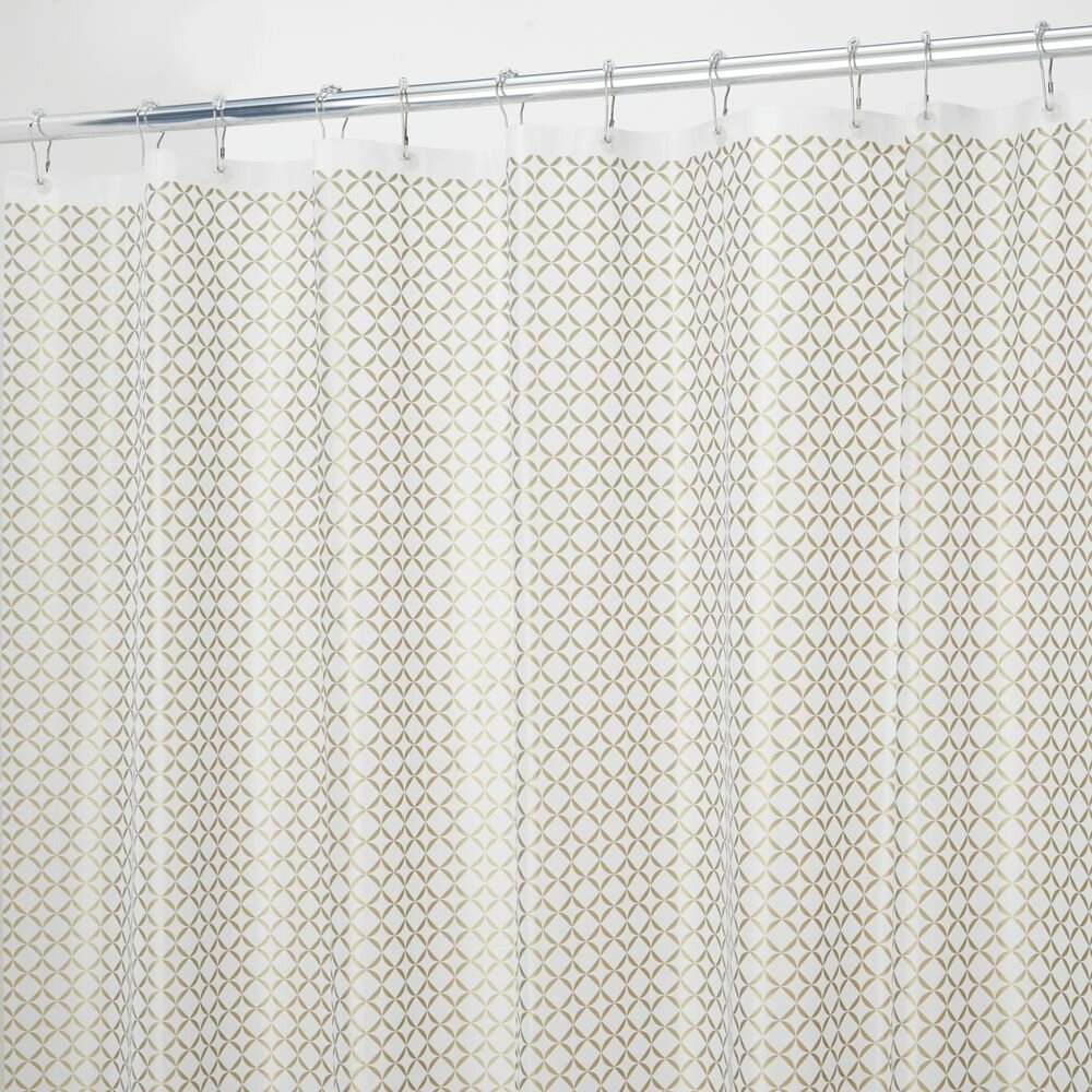 InterDesign Confetti Vinyl Shower Curtain Liner Reviews