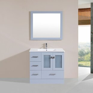 Lapoint 36 Single Modern Bathroom Left Side Cabinet Vanity Set by Latitude Run