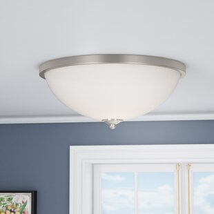 Price comparison Orion 3-Light Flush Mount By Three Posts