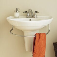 American Standard Ravenna Vitreous China 24 Semi Pedestal Bathroom