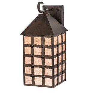 Meyda Tiffany Greenbriar 1-Light Outdoor Wall Lantern