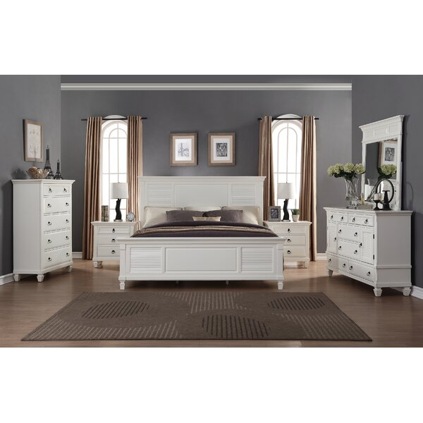 Stratford King Platform 6 Piece Bedroom Set