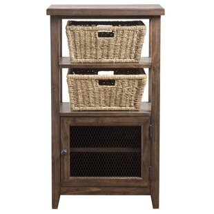 Sceinnker Rustic 1 Door Accent Cabinet by Gracie Oaks