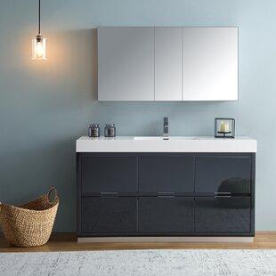 Senza Valencia 60 Single Bathroom Vanity Set By Fresca