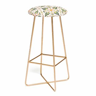 Marta Barragan Camarasa Andalusian Mosaic I 25 Bar Stool East Urban Home