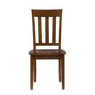Merveilleux Wooden Straight Back Chair | Wayfair