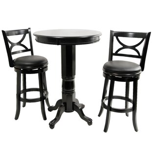 Three Posts Burr Pub Table Set