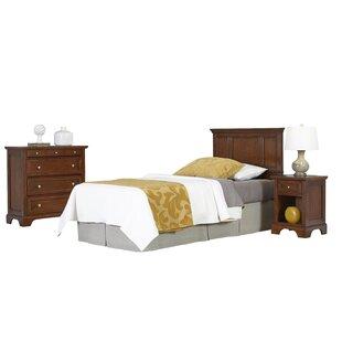 Best Elise Panel 3 Piece Bedroom Set ByViv + Rae