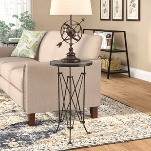 Laurel Foundry Modern Farmhouse Abequas Metal End Table