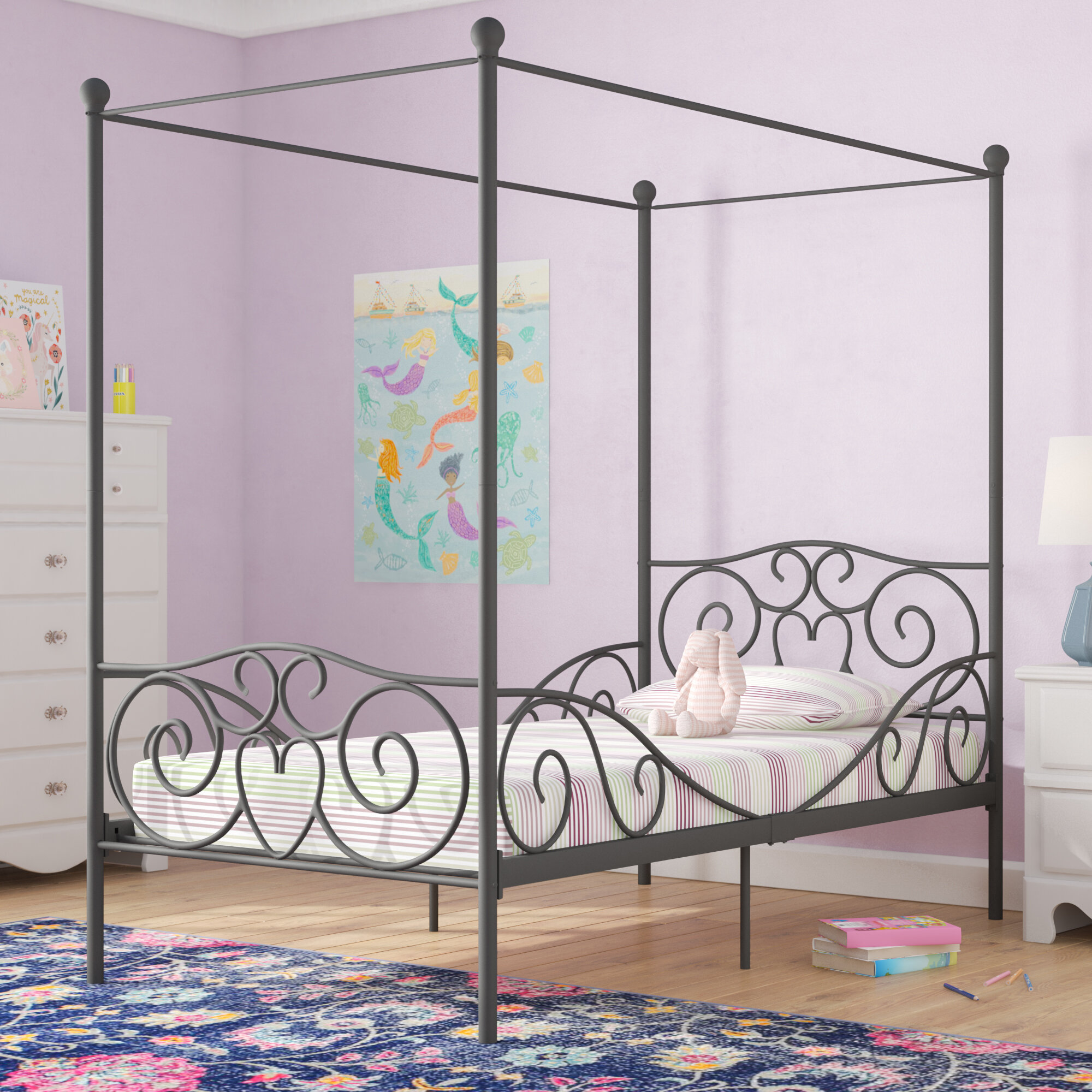Canopy Metal Beds You Ll Love In 2020 Wayfair