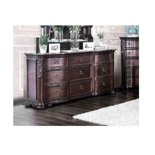 Trevin 9 Drawers Double Dresser by House of Hampton