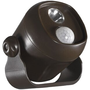 Bargain Kittel LED Outdoor Spotlight with Motion Sensor By Symple Stuff