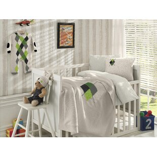 Shopping for Diamond Wool Blended 6 Piece Crib Bedding Set By Nipperland