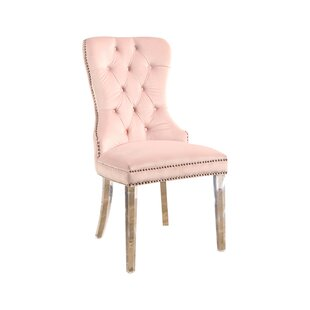 Braelyn Tufted Upholstered Dining Chair by House of Hampton