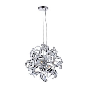 Wrought Studio Fritz 12-Light Sputnik Chandelier