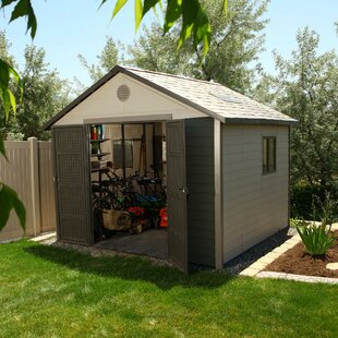 Lifetime 11 ft. x 11 ft. Plastic Storage Shed