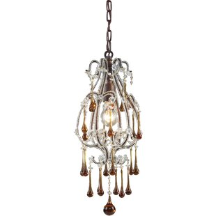 Maney 1-Light Lantern Pendant by Astoria Grand