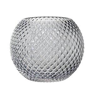 Round Hobnail Glass Table Vase